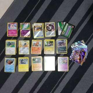Pokemon Cards Sun and Moon
