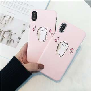 PO cute cat phone case