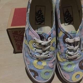 434671e0db4c Vans x Odd Future Authentic Scuba Blue Donut Shoes