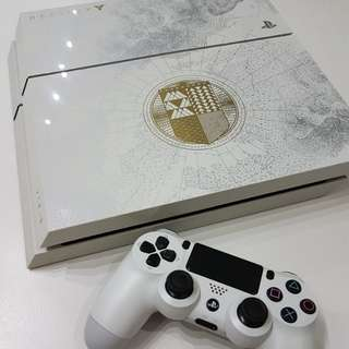 Preloved Destiny limited edition PS4 console