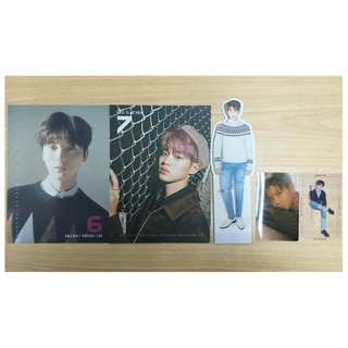 Wanna One Nothing Without You Calendar, Standee, Photocard
