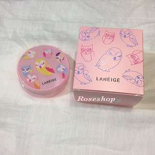Laneige 21 BB Cushion Whitening (Limited Edition) Lucky Chouette