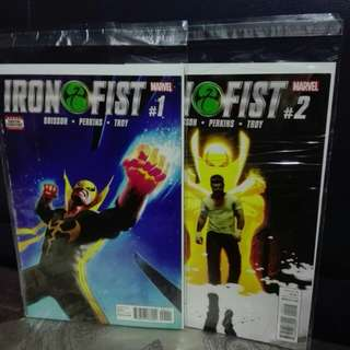 Iron fist #1 and #2
