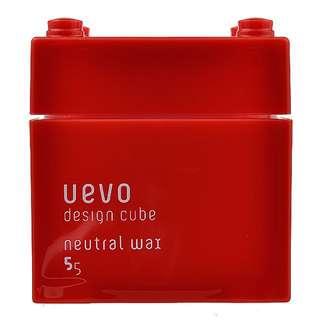Uevo 紅積木 造型髮臘