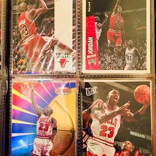 NBA Card Michael Jordan (5 pieces)