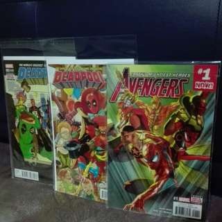 Deadpool n Avengers comic