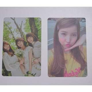 Gfriend photocard