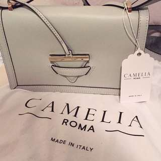 New Camelia Roma Leather Crossbody Shoulder bag