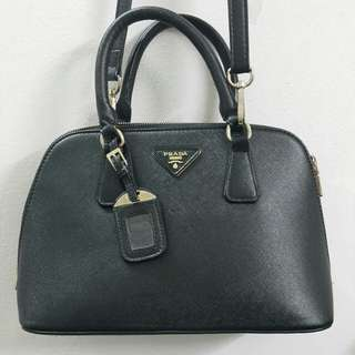 Inspired Prada Handbag REAL LEATHER condition 10/10