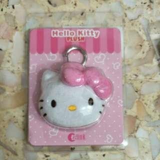 Bnib hello kitty ezlink plush charm. Red n pink