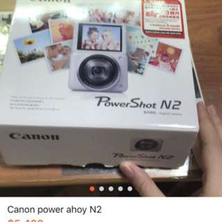 Canon power shot n2
