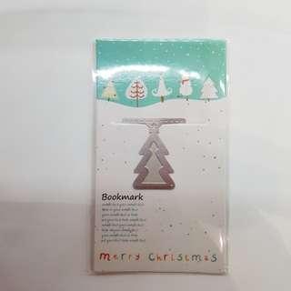 Christmas Tree Metal Bookmark