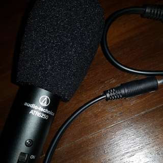 Audio-technica ATR6250 microphone for dslr