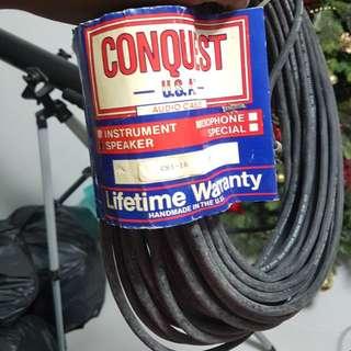 Conquest Audio Cables