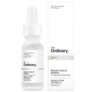BNIB The Ordinary Salicylic Acid 2% Solution