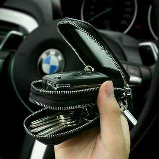 實拍照 鱷魚紋 皮革 雙層鑰匙包 雙層汽車鑰匙包 便宜預購中