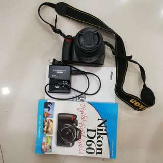 Nikon D60. Focus not working.
