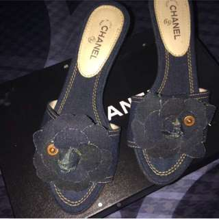 AUTHENTIC CHANEL HEELS (LIMITED EDITION)