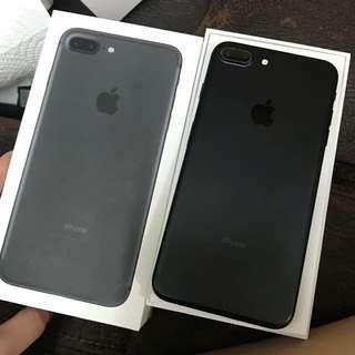 iPhone7Plus 128GB matte black 黑 Original Hong Kong version(have recipe paper) ,have fingerprints, 100%work,no issues  香港行貨,有指紋辨識,機身新淨,全正常,有單