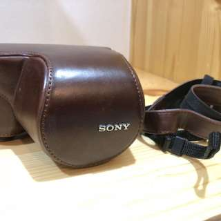 Sony A5000/5100 leather casing