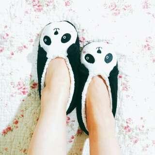 熊貓 室內保暖鞋(37/38)