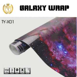 Galaxy Car Wrap Vinyl 1.52m*30m