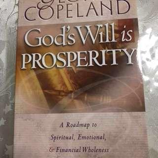 God's will is Prosperity - Gloria Copeland