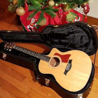Taylor Guitar 214ce-G with Upgrades