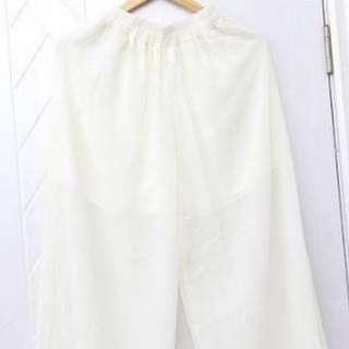 White Cullotes Pants