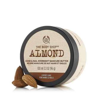 (BN) Body Shop Almond Hand And Nail Butter - 100ml