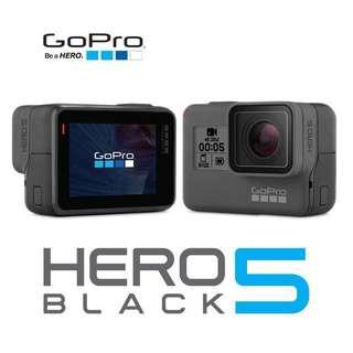 Brand New GoPro Hero 5 Black - Sealed - Waterproof Action Sports Camera