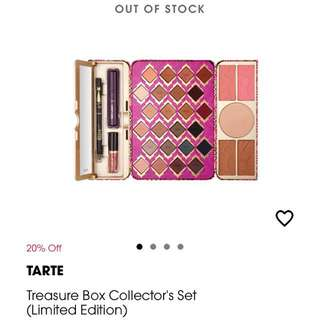 Tarte treasure box collectors set