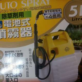 Pressure washer sprayer PORTABLE Battery Operated from JAPAN