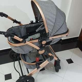 Heavy Duty Baby Stroller