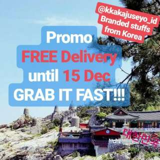 @kkakjuseyo_id. PROMO FREE Delivery until 15th Dec 2017.GRAB IT FAST!!!