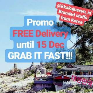 @kkakajuseyo_id. Branded stuffs from Korea. FREE Delivery Promo.Until 15 Dec 2017.GRAB IT FAST!!!