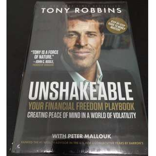 Unshakeable : Your Financial Freedom Playbook - Tony Robbins [Hardcover]