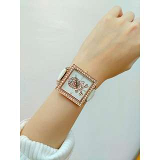 Bling bling diamond watch with new battery