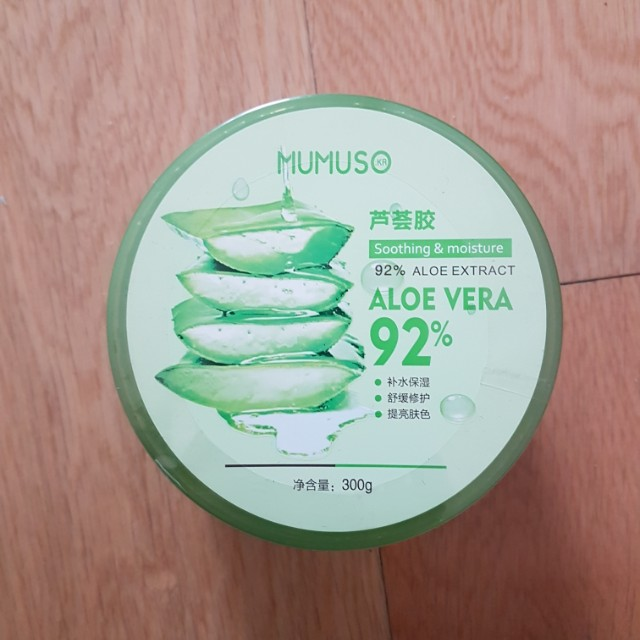 92% Aloe Vera extract gel