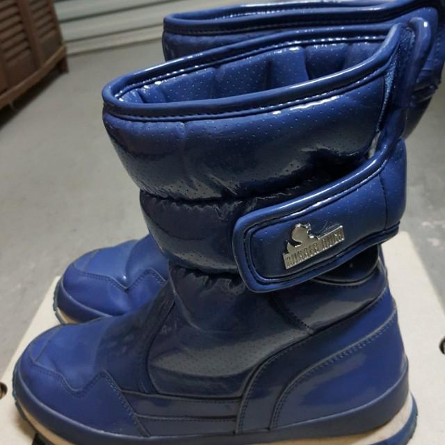 SSIM-PSSP 穿孔PU雪靴