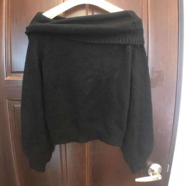針織平口上衣