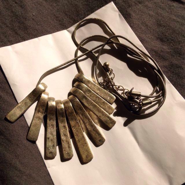 金屬長項鍊