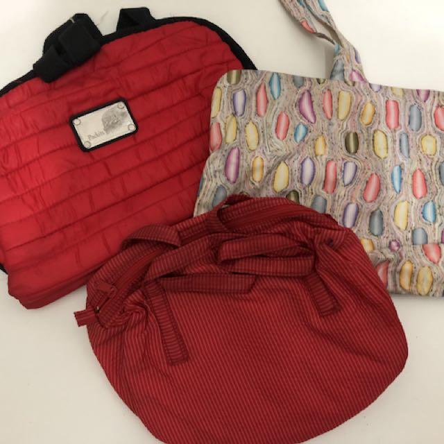 旅行收納包,三個一組,樣品出清款