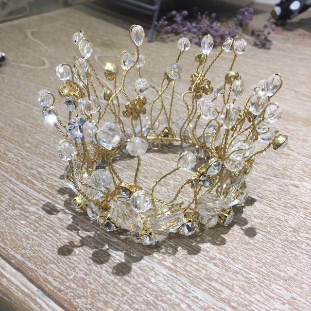 新娘飾品(小皇冠)