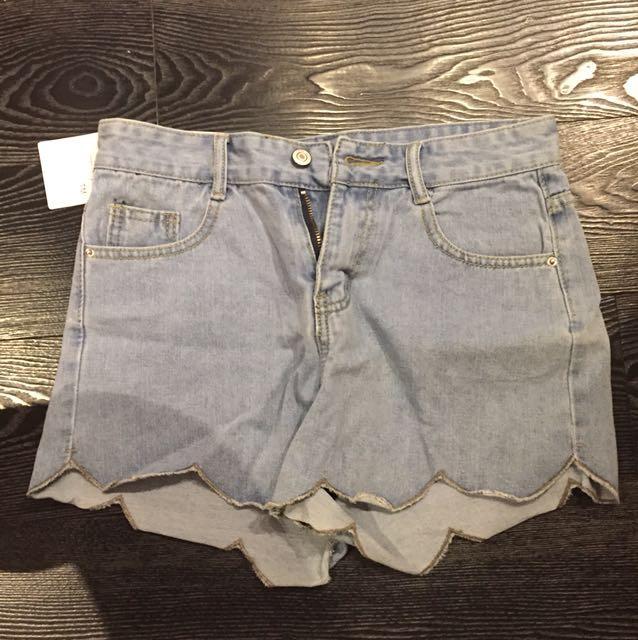 牛仔短褲👖
