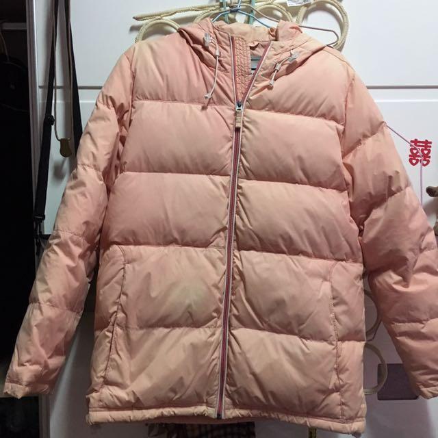 粉紅色防風防潑水外套