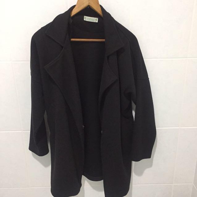 黑色風衣🧥外套