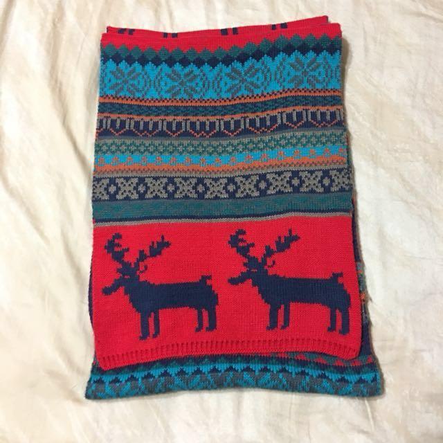聖誕麋鹿圍巾 #舊愛換新歡