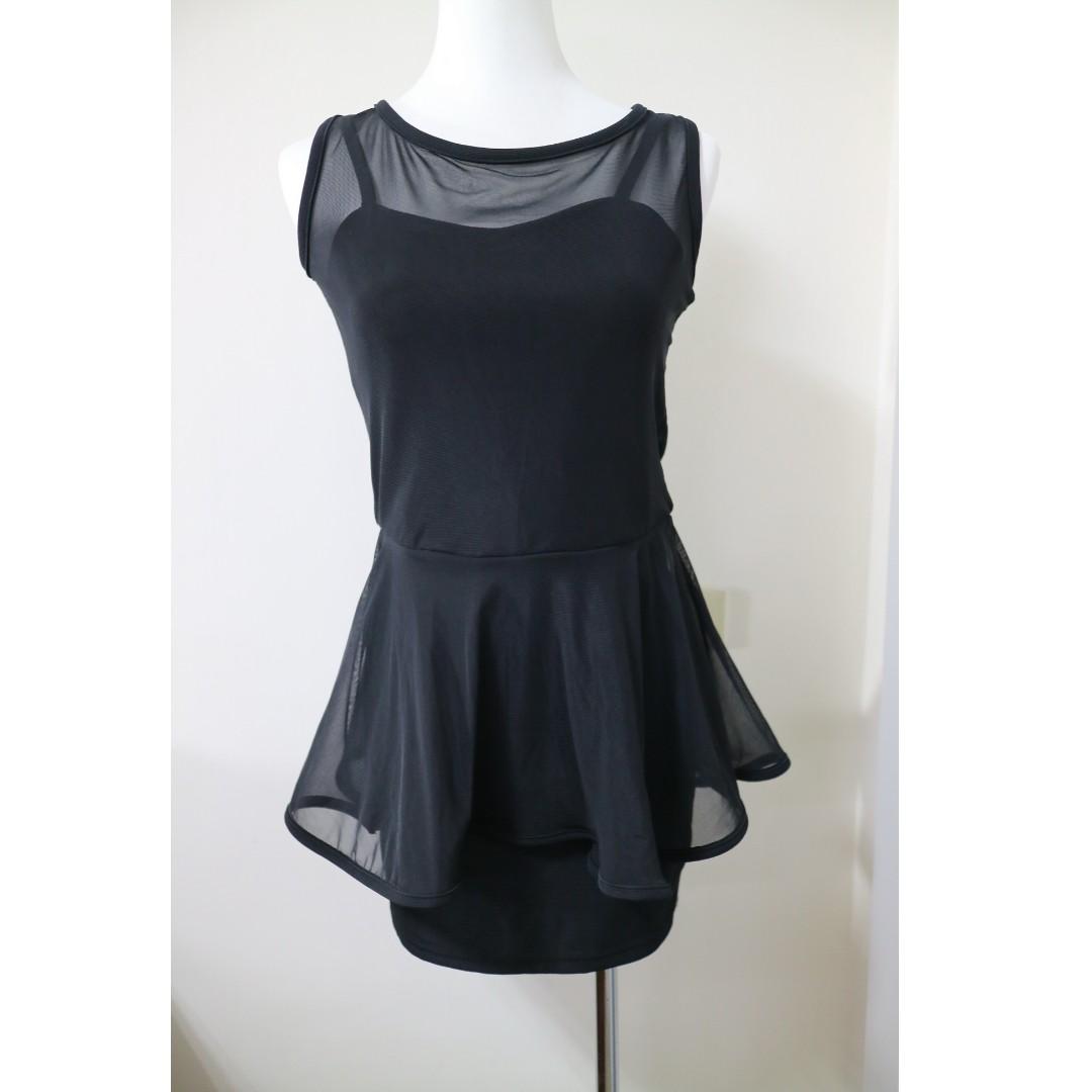 免費贈品🌝韓國性感韓妞 透膚窄裙洋裝