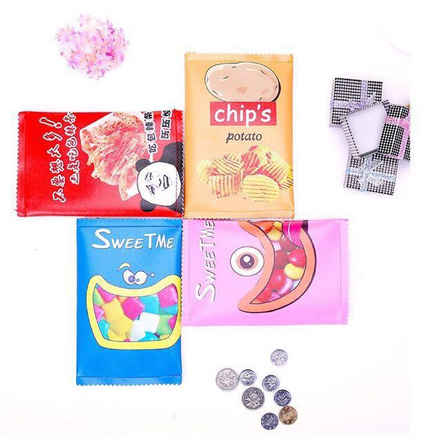 創意薯片鉛筆盒 #交換禮物 #圖2為實拍